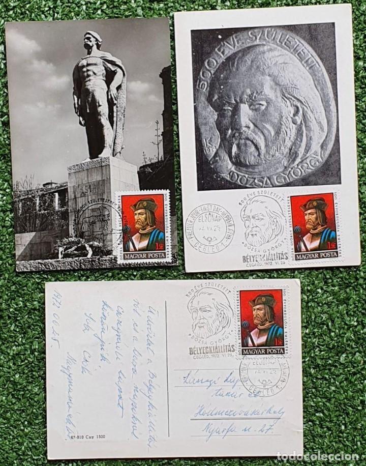 Sellos: 47 Tarjetas Máximas de Magyar Posta (Hungria) 1970-83 - Foto 18 - 217600396