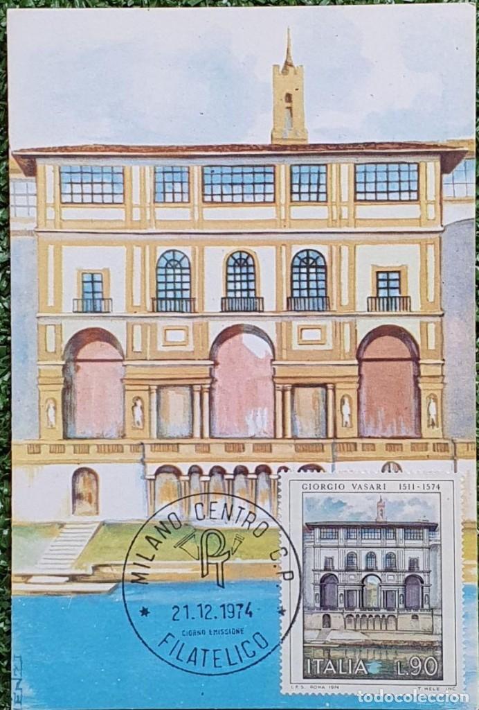 Sellos: 29 Tarjetas Máximas de Italia 1973-80 - Foto 3 - 217600632