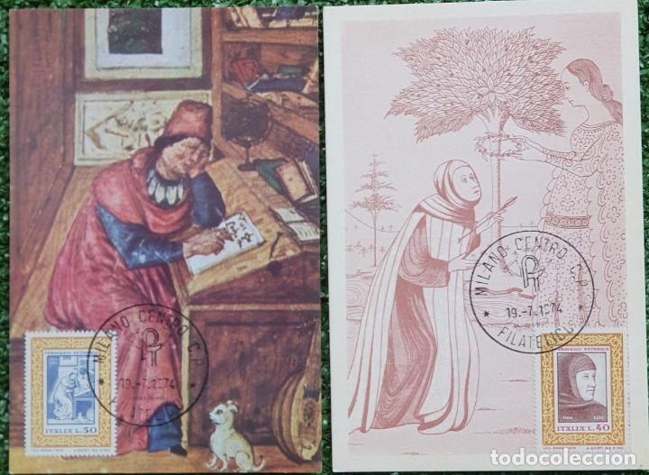 Sellos: 29 Tarjetas Máximas de Italia 1973-80 - Foto 5 - 217600632
