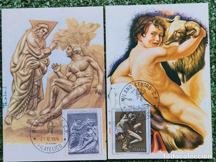 Sellos: 29 Tarjetas Máximas de Italia 1973-80 - Foto 6 - 217600632
