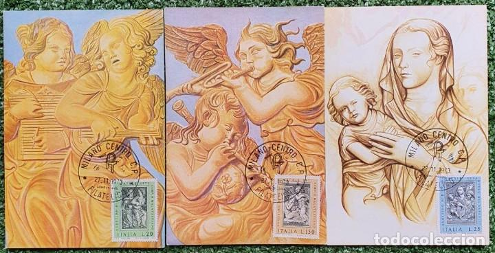 Sellos: 29 Tarjetas Máximas de Italia 1973-80 - Foto 7 - 217600632