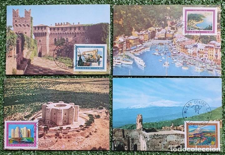 Sellos: 29 Tarjetas Máximas de Italia 1973-80 - Foto 9 - 217600632