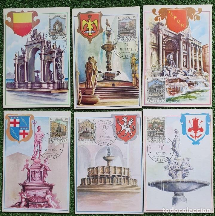 Sellos: 29 Tarjetas Máximas de Italia 1973-80 - Foto 12 - 217600632