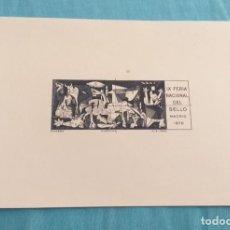 Francobolli: HOJITA IX FERIA NACIONAL DEL SELLO 1976.. Lote 217956223