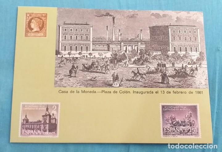 Sellos: HOJITA INAUGURACIÓN DE LOS JARDINES DEL DESCUBRIMIENTO. - Foto 2 - 217956478