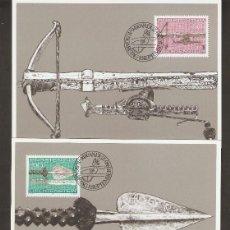 Sellos: LIECHTENSTEIN 1980 . MÁXIMA .ARMAS DE CAZA.. Lote 218928353