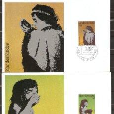 Sellos: LIECHTENSTEIN 1979. MÁXIMA. AÑO INTERNACIONAL DEL NIÑO.. Lote 218931500