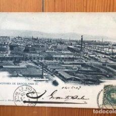 Timbres: TARJETA POSTAL CON SELLO DEL 1901. Lote 219918015