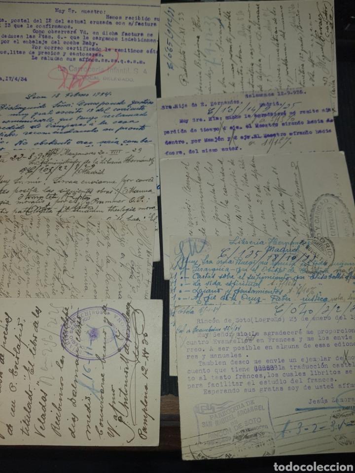 Sellos: Lote de tarjetas postal años 20-30 . F001 - Foto 2 - 220792007