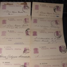 Sellos: LOTES DE TARJETAS POSTAL DE LA ÉPOCA REPUBLICANA .REPÚBLICA. F002. Lote 220792253