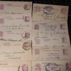 Sellos: LOTE DE TARJETAS POSTAL ÉPOCA DE LA REPUBLICA .F003. Lote 220792422