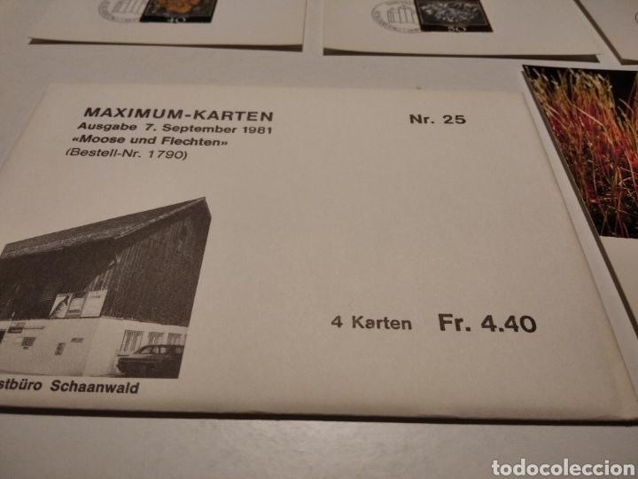 Sellos: TARJETA MAXIMA LIECHTENSTEIN Sobre n25 con 4 tarjetas - Foto 5 - 220993996