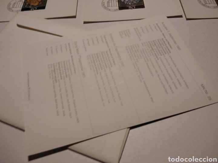 Sellos: TARJETA MAXIMA LIECHTENSTEIN Sobre n25 con 4 tarjetas - Foto 6 - 220993996