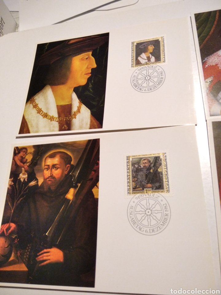 Sellos: Tarjeta Maxima LIECHTENSTEIN sobre n35 - Foto 2 - 221153767