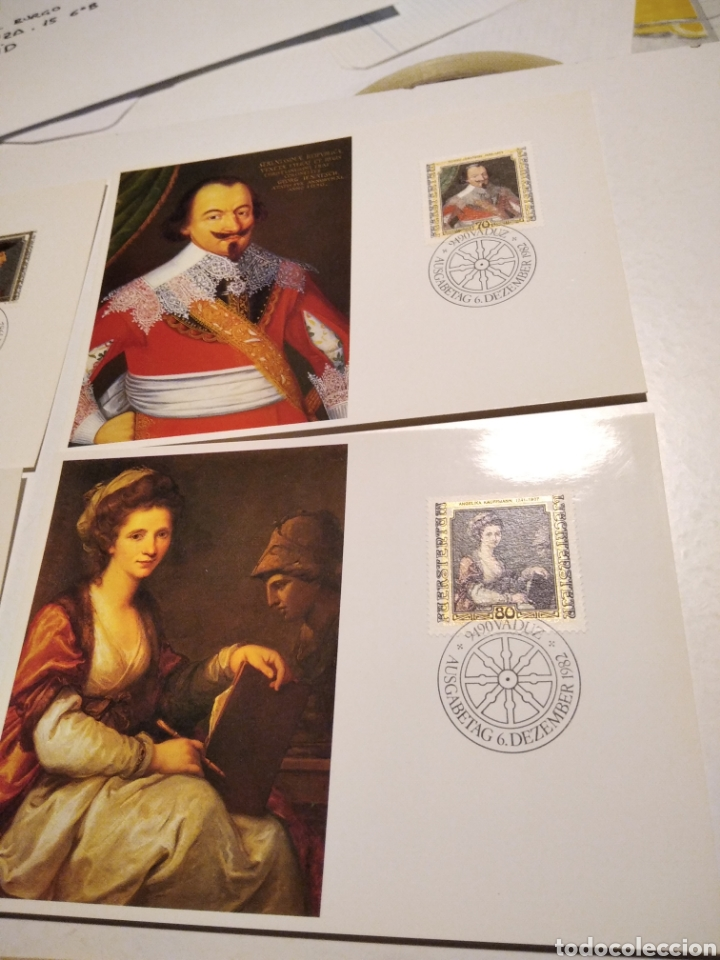 Sellos: Tarjeta Maxima LIECHTENSTEIN sobre n35 - Foto 3 - 221153767