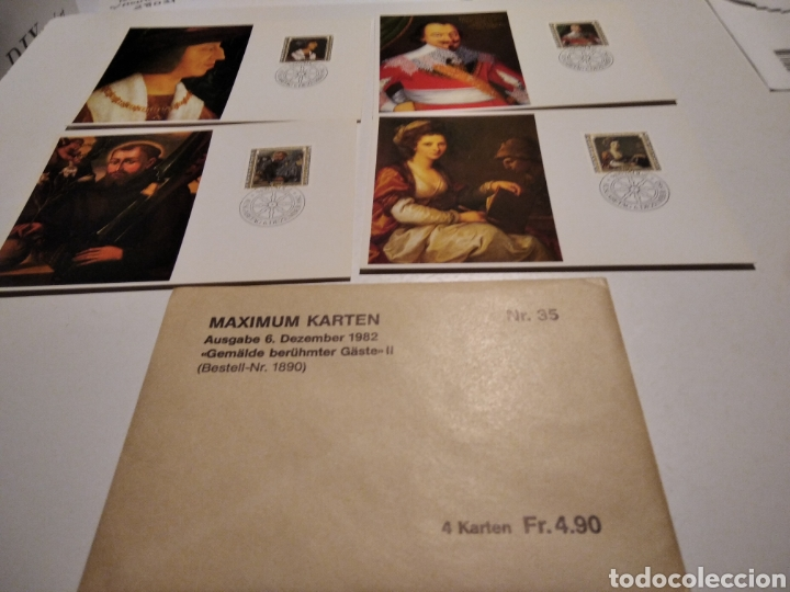 TARJETA MAXIMA LIECHTENSTEIN SOBRE N35 (Sellos - Extranjero - Tarjetas Máximas)