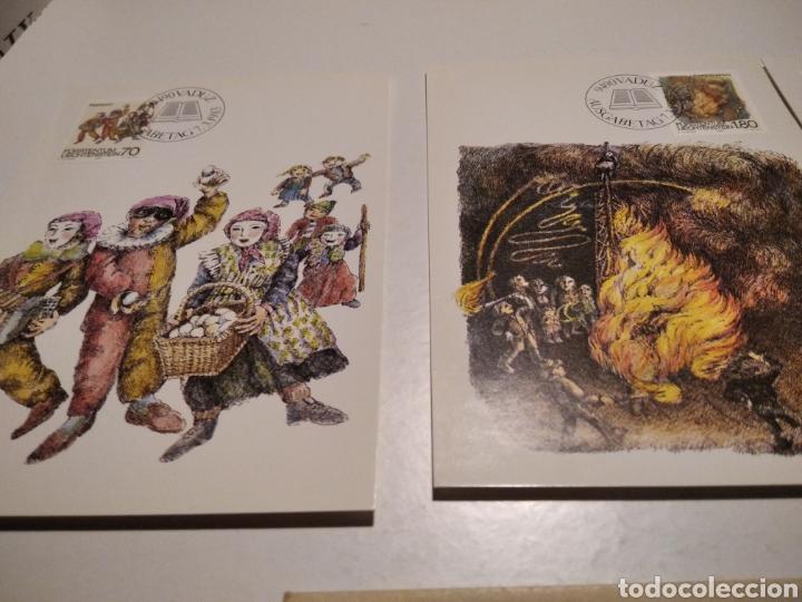 Sellos: Sobre n38 tres tarjeta Maxima LIECHTENSTEIN 1982 - Foto 2 - 221154691