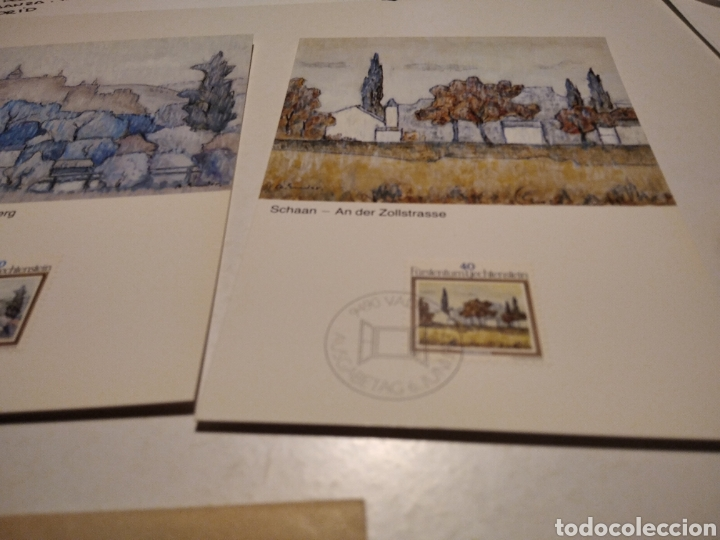 Sellos: Sobre con tres tarjeta Maxima LIECHTENSTEIN - Foto 3 - 221155338
