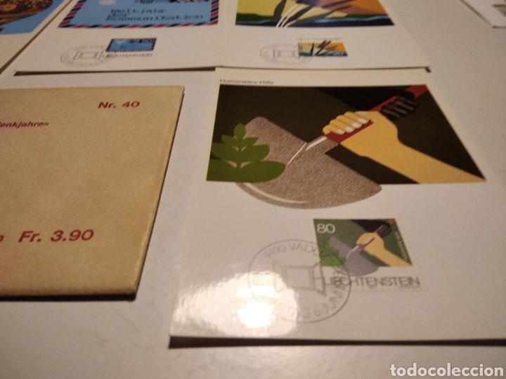 Sellos: Sobre n 40 4 tarjeta Maxima LIECHTENSTEIN 1983 - Foto 4 - 221155642