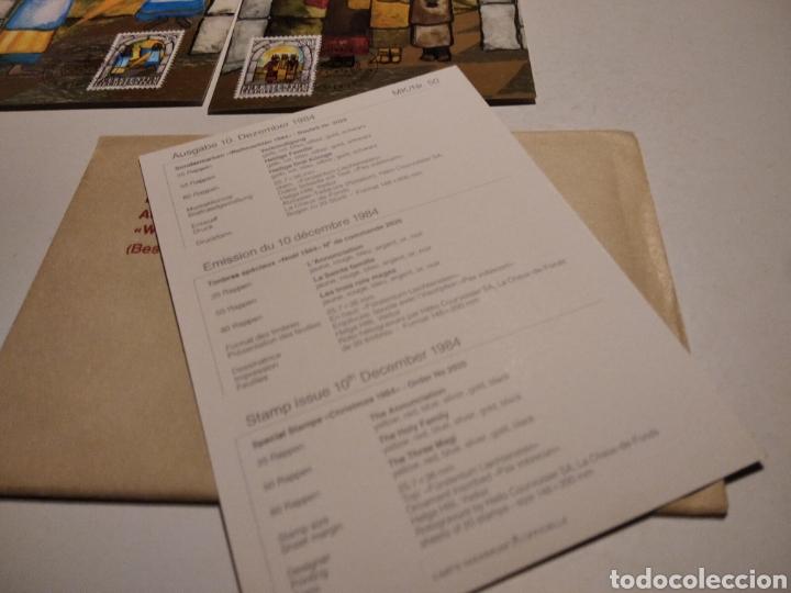 Sellos: Sobre con tres tarjeta Maxima LIECHTENSTEIN Navidad - Foto 4 - 221158133