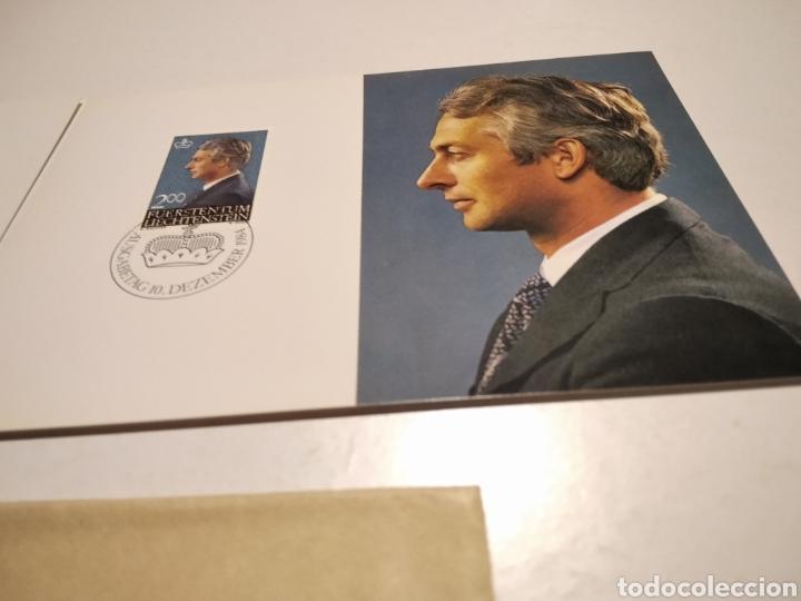 Sellos: Sobre n51 dos tarjeta Maxima Reyes 1984 - Foto 2 - 221158310