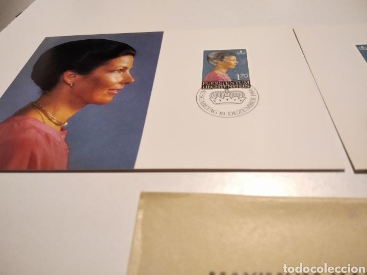 Sellos: Sobre n51 dos tarjeta Maxima Reyes 1984 - Foto 3 - 221158310