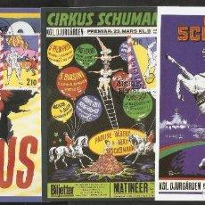 Sellos: SUECIA. 1987. MÁXIMAS. CIRCO. Lote 222008030