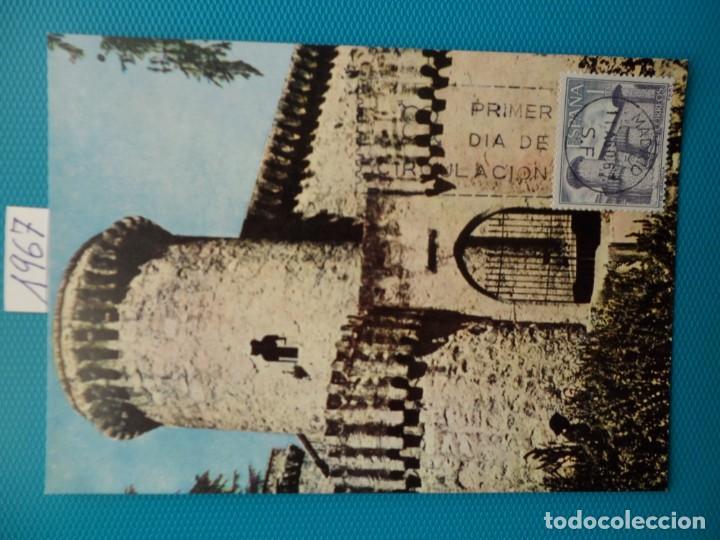 Sellos: 1967-ESPAÑA-TARJETAS MAXIMAS-CASTILLOS DE ESPAÑA - Foto 2 - 222103567