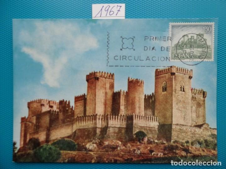 Sellos: 1967-ESPAÑA-TARJETAS MAXIMAS-CASTILLOS DE ESPAÑA - Foto 3 - 222103567
