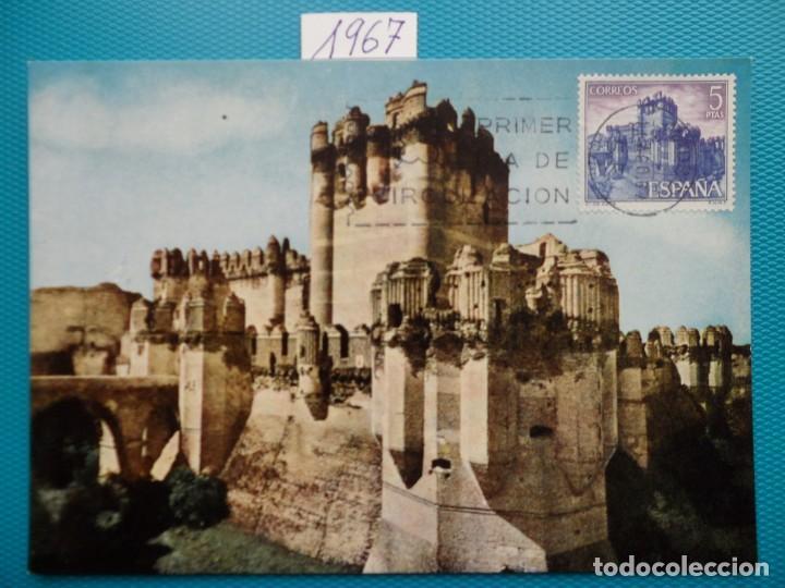 Sellos: 1967-ESPAÑA-TARJETAS MAXIMAS-CASTILLOS DE ESPAÑA - Foto 6 - 222103567