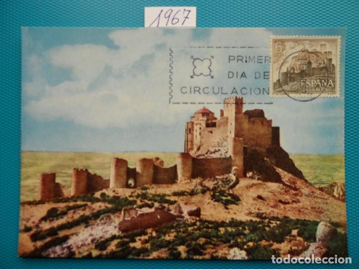 Sellos: 1967-ESPAÑA-TARJETAS MAXIMAS-CASTILLOS DE ESPAÑA - Foto 7 - 222103567
