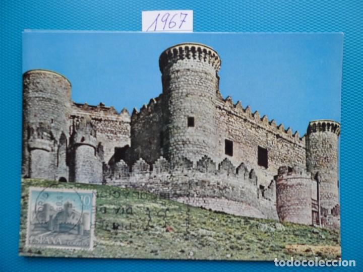 Sellos: 1967-ESPAÑA-TARJETAS MAXIMAS-CASTILLOS DE ESPAÑA - Foto 8 - 222103567