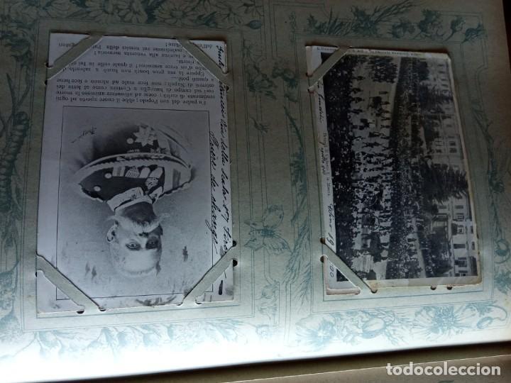 Sellos: ANTIGUO ALBUM CON 400 TARJETAS POSTALES EUROPEAS. - Foto 18 - 225792435