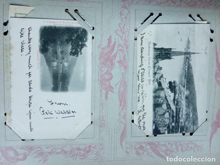 Sellos: ANTIGUO ALBUM CON 400 TARJETAS POSTALES EUROPEAS. - Foto 109 - 225792435