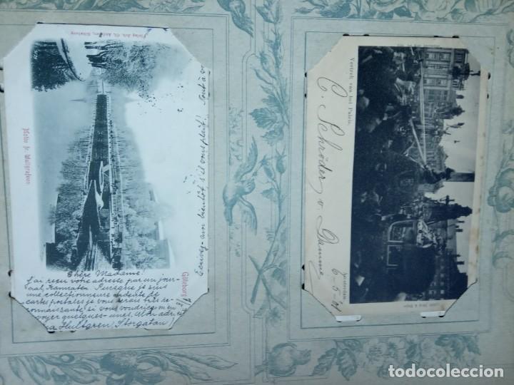Sellos: ANTIGUO ALBUM CON 400 TARJETAS POSTALES EUROPEAS. - Foto 163 - 225792435
