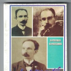 Sellos: O-CU4 CUBA 2016 JOSE MARTI - PHOTOS - 16 POSTCARDS. Lote 226332268