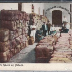 Sellos: K-TAB CUBA 1910 TOBACCO WAREHOUSE IN HAVANA. Lote 229932355