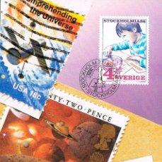 Sellos: SUECIA IVERT 1360, 350 ANIVERSARIO CORREO SUECO (EL COLECCIONISMO JUVENIL), MÁXIMA DE 23-1-1986. Lote 230199345