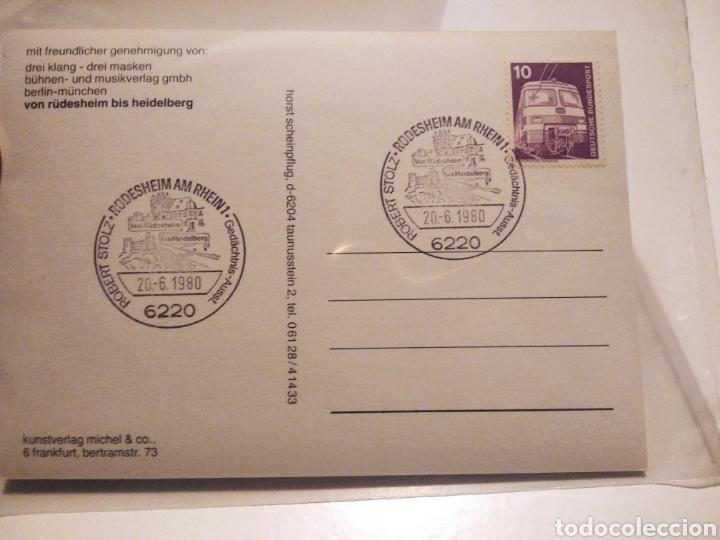 Sellos: Tarjeta postal Alemania von RUDESHEIM bis Heidelberg - Foto 2 - 233038310