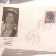 Sellos: TARJETA POSTAL ALEMANIA ELIZABETH LL 1965. Lote 233038510