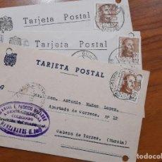 Sellos: 3 TARJETAS POSTAES 1954 Y 1957.. Lote 233920615