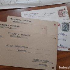 Sellos: 5 TARJETAS POSTAES 1953 Y 1957.. Lote 233963235