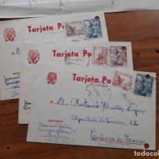 Sellos: 5 TARJETAS POSTAES 1953 Y 1954.. Lote 233963365