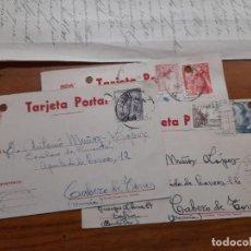Sellos: 3 TARJETAS POSTAES 1949 Y 1954.. Lote 233963495