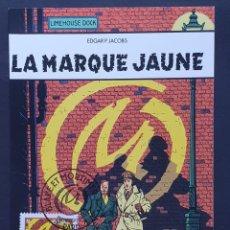 "Sellos: TARJETA MÁXIMA FRANCIA - COMIC: EDGAR P. JACOBS ""BLAKE ET MORTIMER"" FRANCE-BELGIQUE, PARIS 2004. Lote 235298920"