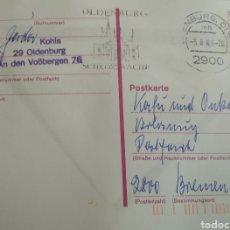 Sellos: TARJETA POSTAL DE ALEMANIA RF 035. Lote 237290820