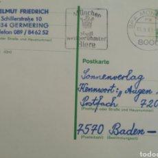 Sellos: TARJETA POSTAL DE ALEMANIA RF 194. Lote 241173235