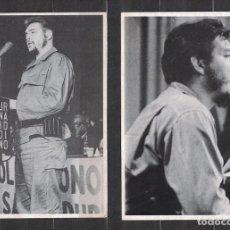 Sellos: CUBA 1990 COMANDANTE CHE - 4 PHOTOS - CHE GUEVARA. Lote 241356980