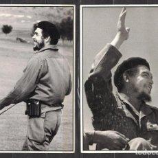 Sellos: CUBA 1990 COMANDANTE CHE - 2 PHOTOS - CHE GUEVARA. Lote 241356995