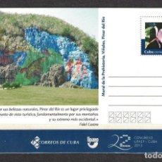 Sellos: CUBA 2017 VINALES VALLEY NATIONAL PARK - ART. Lote 241357050